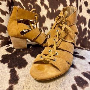Tan Lucky Brand Sandals